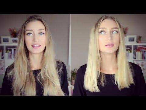 Haare Ab Und Neue Farbe Von Sehr Lang Zu Einem Xl Lob