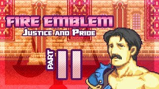 """Part 11: Let's Play Fire Emblem, Justice & Pride, Reverse Mode, Chapter 9 - """"The Classiest Brigand"""""""
