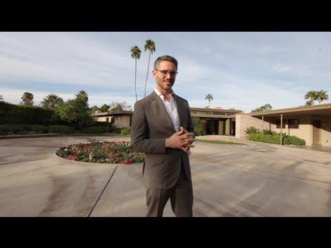 Frank Sinatras Twin Palms Estate - Modernism Weeks Man About Modernism episode 4