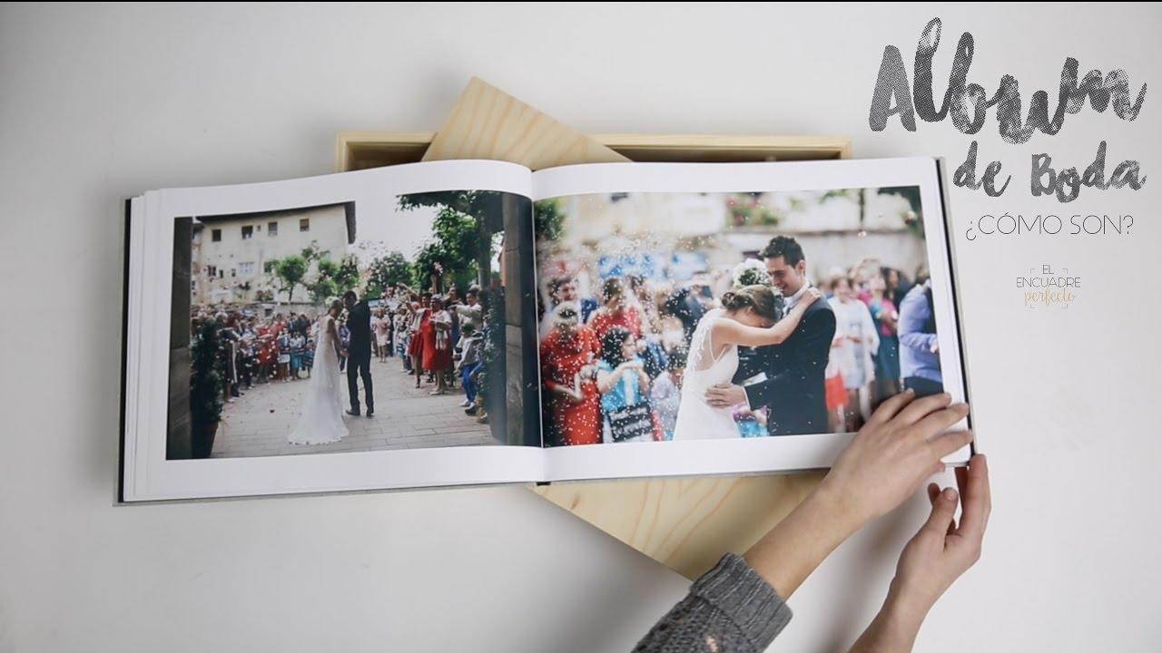 Album de Boda - El Encuadre Perfecto - Fotografos Boda Burgos - YouTube