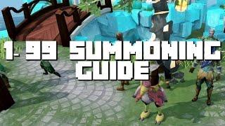 Runescape 1-99 Summoning Guide 2016