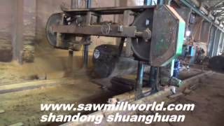 Large Size Horizontal Band Saw For Hard Wood