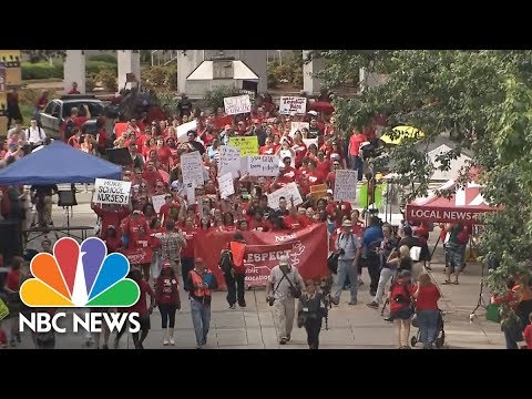 WATCH LIVE: North Carolina Teachers rally for raises