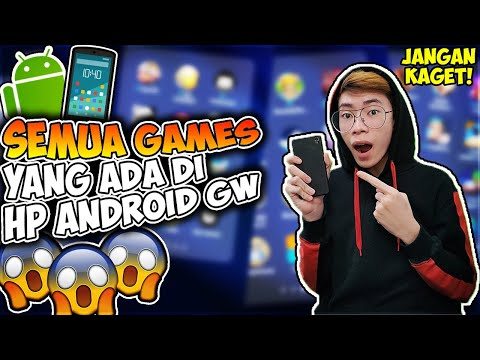 Ini Semua Games Di HP Android Gua (BANYAK BANGET GILA!) - 동영상