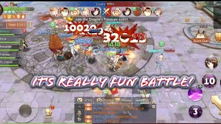 5v5 PvP Real-Time Cross-Server Battle! Ruins Duel / Relic! Make your Squad! - Laplace M