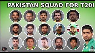Ambitious T20 Squad Announced by Misbah Ul Haq | Pakistan Vs Australia 2019