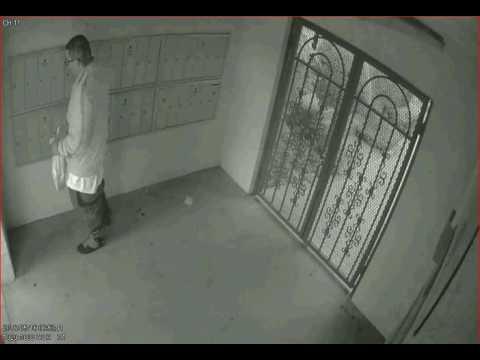 Mail Thief in El Monte California 1 of 2