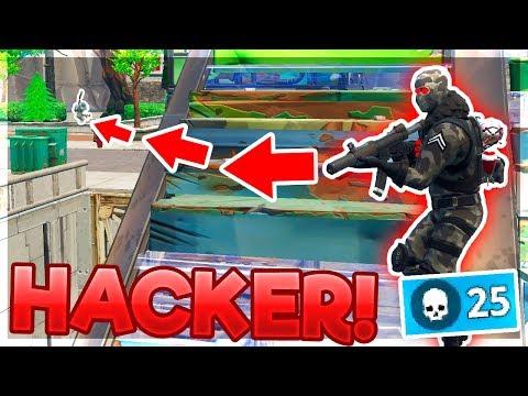 SPILLER IMOD EN SINDSSYG HACKER!! (DANSK FORTNITE)