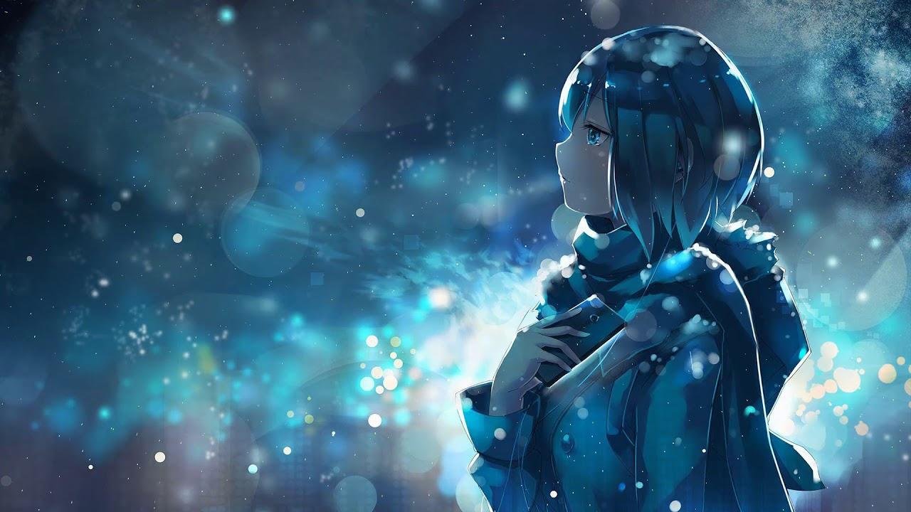 Winter Anime Girl Video HD Live Wallpaper