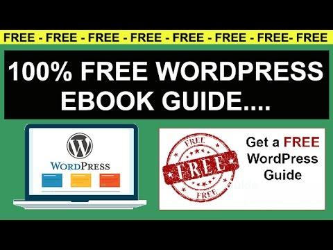 free wordpress ebook guide wordpress tutorial pdf complete guide rh youtube com WordPress Menus Tutorial wordpress tutorial pdf complete guide