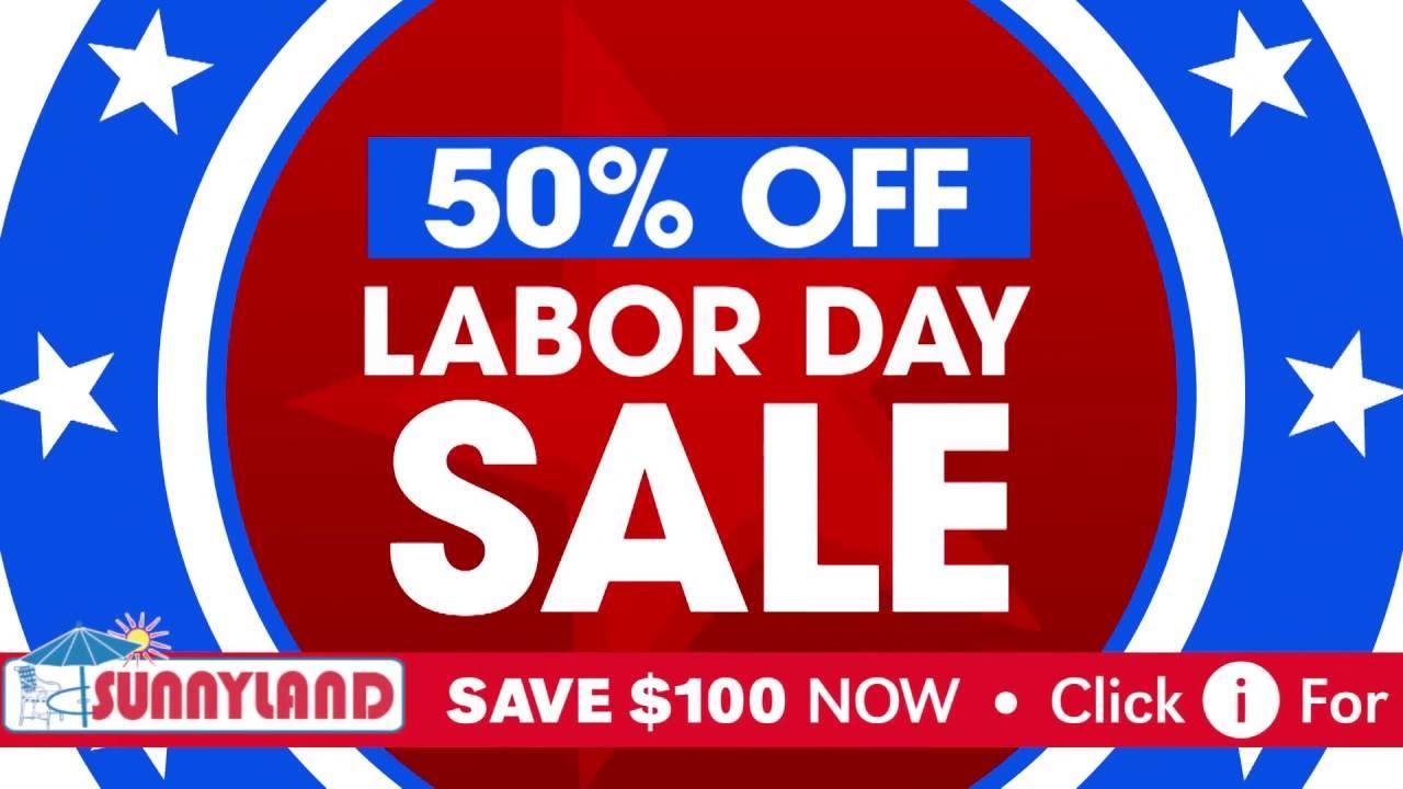 Labor Day Half Off Outdoor Furniture Sale   Sunnyland Patio Furniture In  Dallas   YouTube