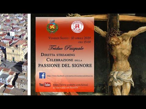 Celebrazione della Passione del Signore - Venerdì Santo BAUCINA 10/04/2020