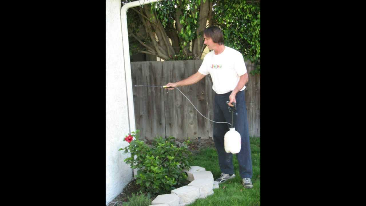 How To Fog Coat Exterior Stucco Walls Do It Yourself
