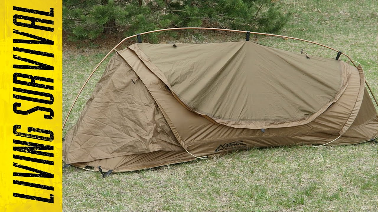 Catoma Badger Lightweight Solo Shelter - YouTube