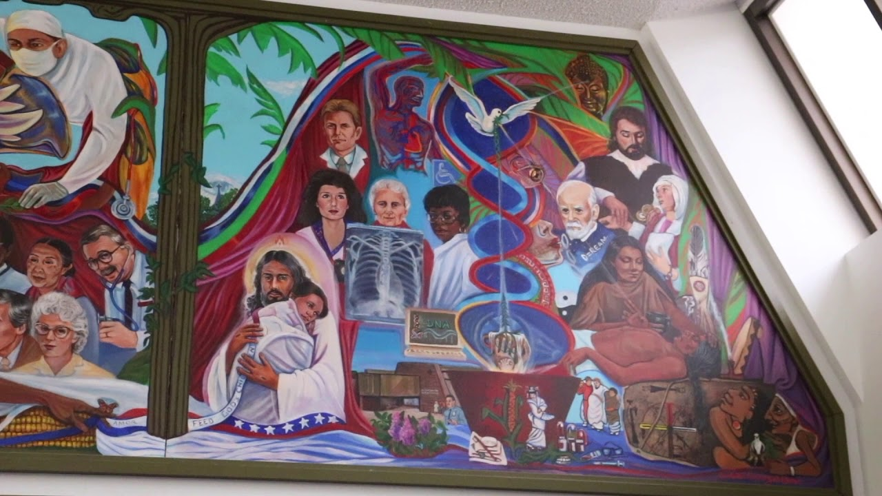 The Story Behind The Westside Family Health Center Mural Youtube