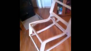 Plywood Rocking Chair Construction Test