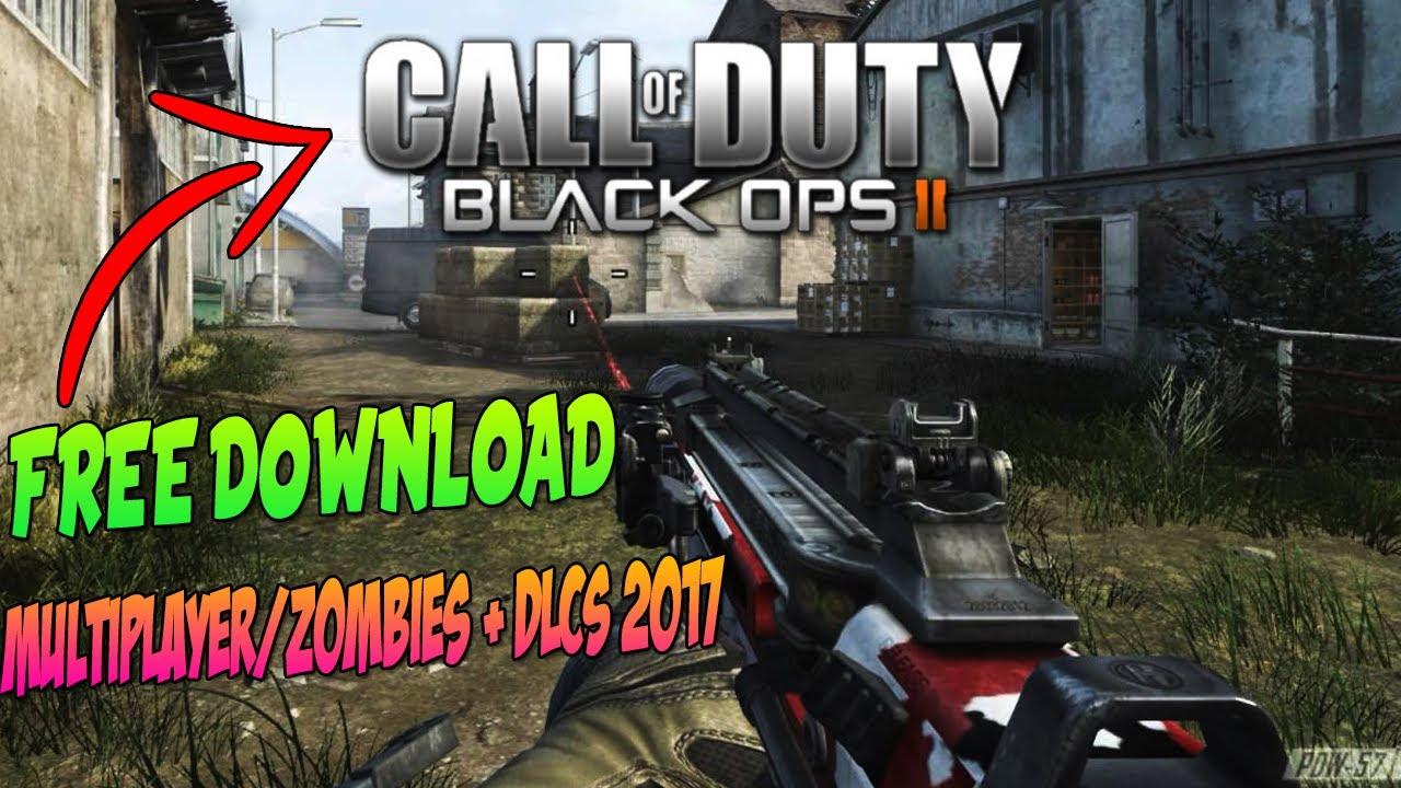 HOW TO DOWNLOAD COD BLACK OPS 2 For FREE On PC With Multiplayer