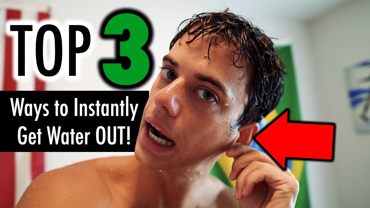 How to Get Water Out of Your Ears - TOP 3 WAYS - YouTube