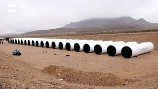 Hyperloop Technologies has begun work on a Hyperloop test track -- ...