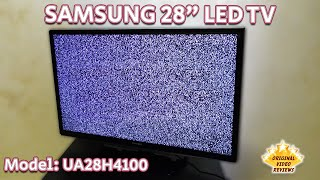 Item Review - Samsung 28 Inch LED TV (Model: UA28H4100)