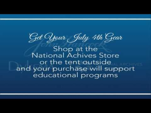 July 4, 2016 at the National Archives