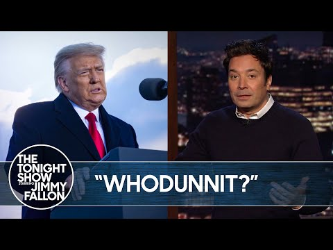 Democrats Say Trump Is Responsible for Capitol Riots   The Tonight Show