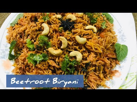 BeetrootRice | Beetroot Sadham | Beetroot pulav in telugu| one pot meal | healthy Rice varieties