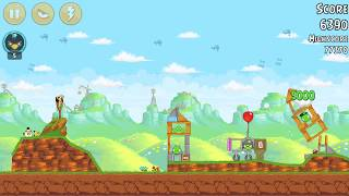 RECORD ONE BIRD Angry Birds level 24-4 : Red`s Mighty Feathers 3 stars HD | Android 2017