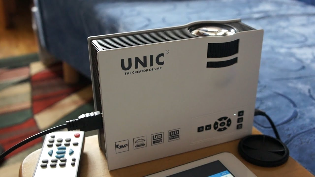 Unic Uc40 Led Projector Review Watch Youtube Like A Boss Proyektor Projektor Mini Portable Uc46 Uc 46