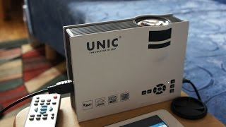 UNIC UC40 LED Projector Review / Watch Youtube Like a BOSS!