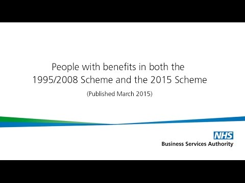 People with benefits in both the 1995/2008 Scheme and the 2015 Scheme