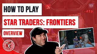 Overview and How to Play Star Traders Frontier Space Strategy RPG Game screenshot 4