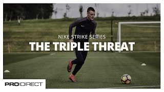 Jamie Vardy, Leicester City and England Striker, Introduces The Triple Threat Drill