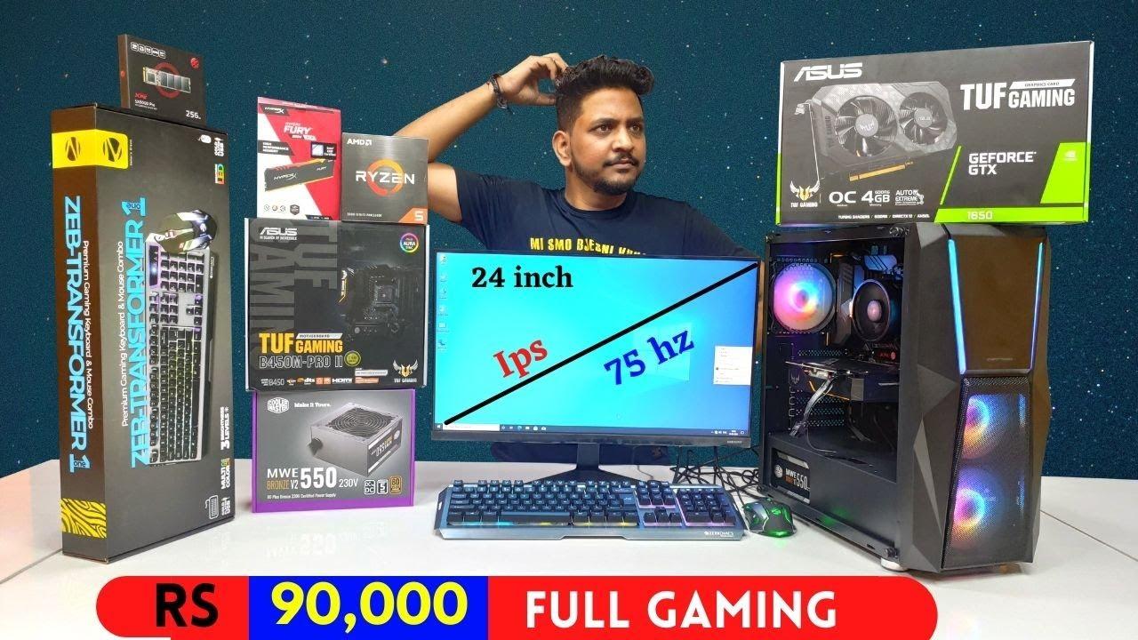 Rs 90k Full Gaming PC Build   ROG Strix   Ryzen 5   Mr Pc Wale
