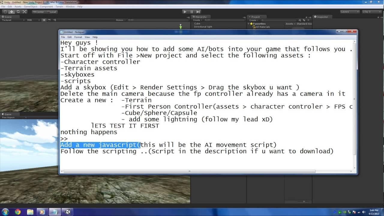 Script bot like 2013