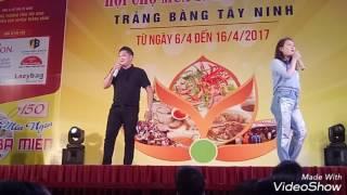 Duy phước anh hài trảng bang tây ninh hội chợ ẩm thực và mua sắm ngày 12/4/2017