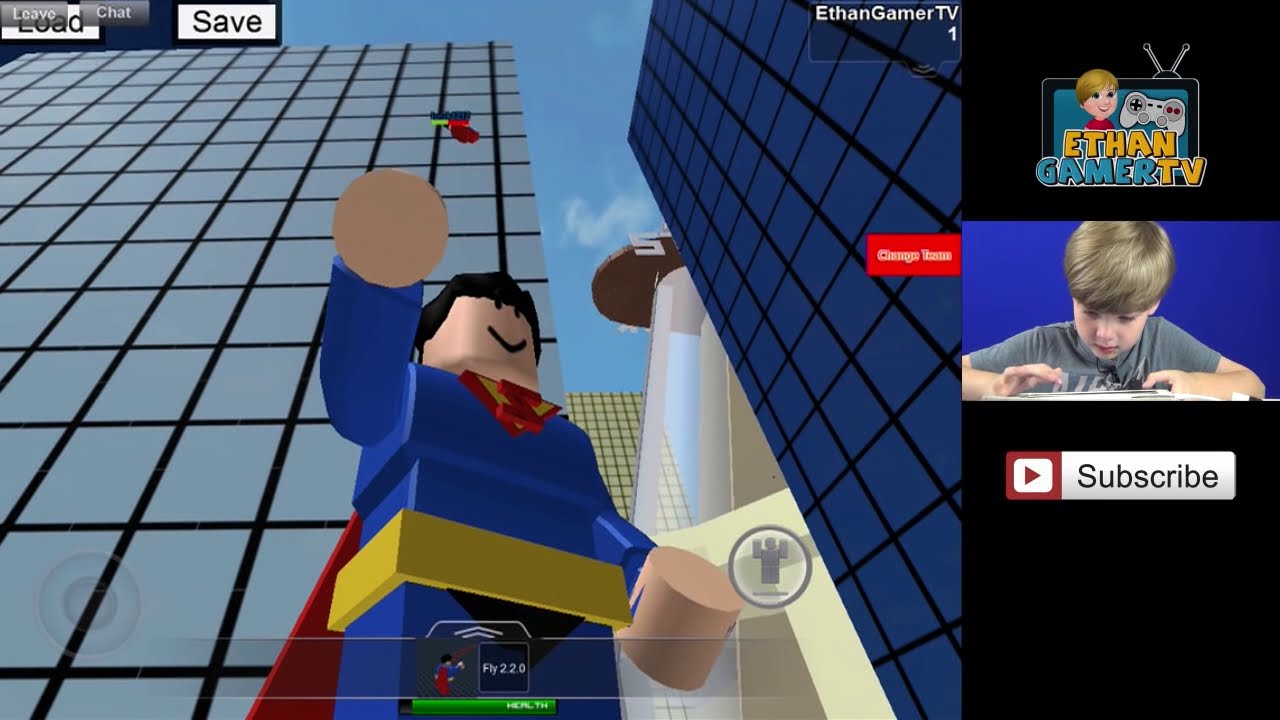 I'M SUPERMAN in SuperHero City III - Roblox