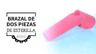 Brazal de Dos Piezas de Esterilla (Básico)     Foam Two Piece Bracelet (Basic)