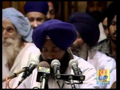 Kabir Sutha Kiya Karhe - Bhai Gurcharan Singh - Live Sri Harmandir Sahib