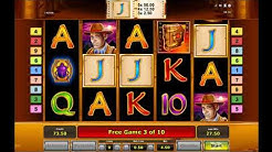 Book of Ra Free Spins and Big Win (Novomatic slot)
