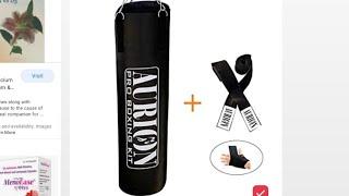 Review aurion unfilled punching bag 4 ft Flipkart