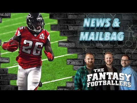 Fantasy Football 2017 - News, Mailbag, and Shanahanagans - Ep. #351