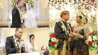 BULE EROPA AKAD NIKAH, PENGANTIN SUNDA - Wedding Day 22 APRIL 2017 ♡ Zebby & Marek