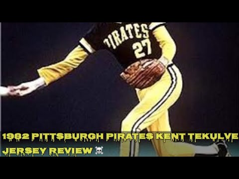 the best attitude 82d38 7c86d 1982 Authentic Batting Practice Kent Tekulve Pittsburgh Pirates Jersey  Review
