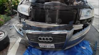 Remove Audi A8L D3 Front Bumper Cover (revised) - YouTube | 2004 Audi A8 Front Bumper Conversion |  | YouTube