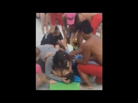Boy attacked by shark in Florida