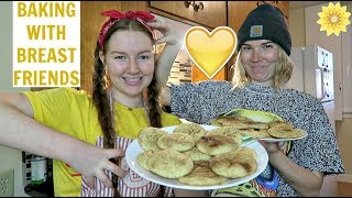 BAKING WITH BREAST FRIENDS | SNICKERDOODLE EDITION | MEGHAN HUGHES