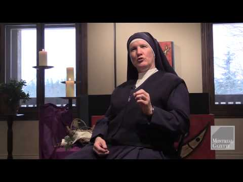 Hockey and Religion , a nice duo for Sister Chantal
