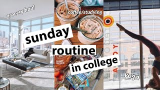 SUNDAY DAY IN MY LIFE VLOG // being productive & getting organized