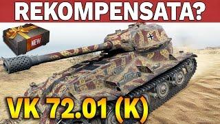 żałosna rekompensata vk 72 01 k world of tanks